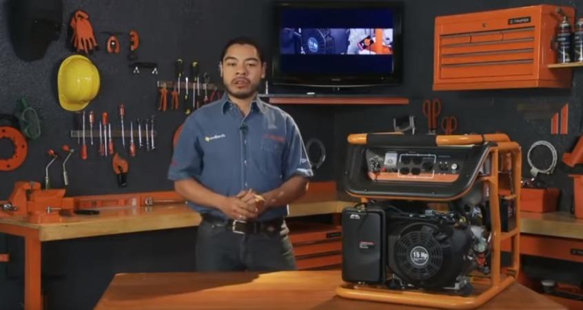 Generadores Eléctricos a gasolina Truper