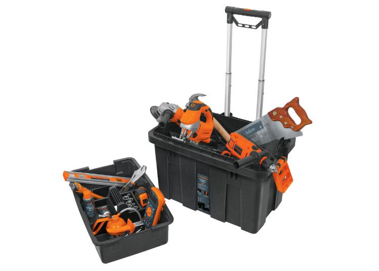 Tipos de cajas para herramientas